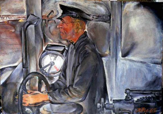 """Rabichev L. """"Tram driver"""""""