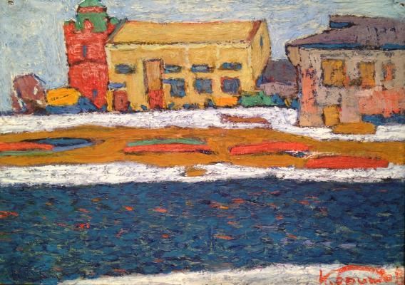 """Britov K. N. """"On the river Trubezh"""""""