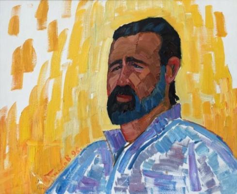 Бритов Ким Николаевич. Мужской портрет
