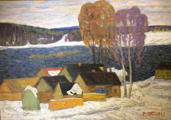Бритов Ким Николаевич. Зима
