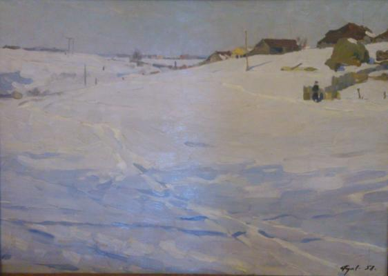 "Rodionov V. V. ""Winter"""
