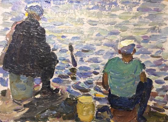 Paramonov Vasily Aleksandrovich - Fishermen.