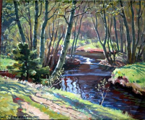 "Ovchinnikov N. V. ""Forest River"""