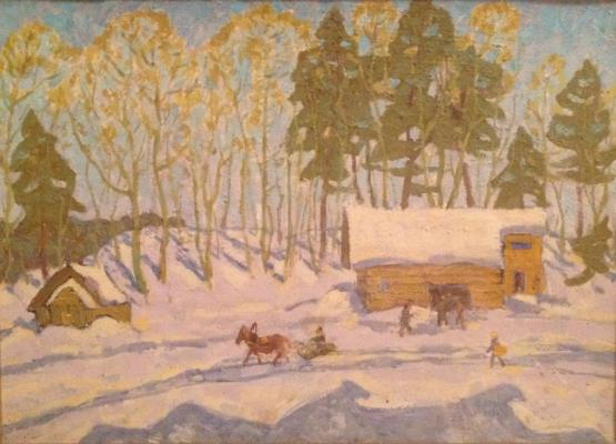 "Modorov N. N. ""First Snow"""