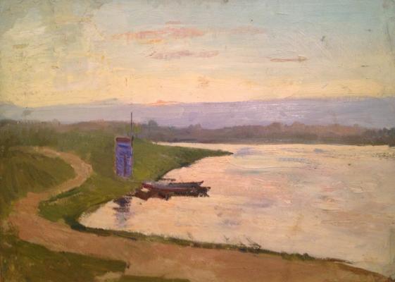 """Basov B. M. """"Minsk lake"""""""