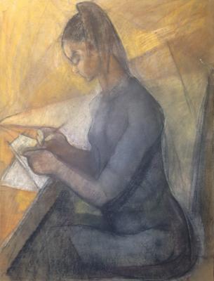 Рудаков Михаил Захарьевич. Девушка с письмом