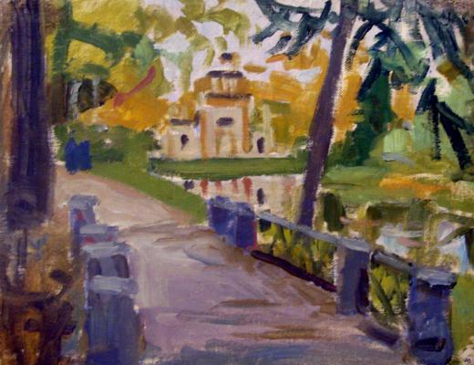 "Kostenko K. Y. ""Creaking gazebo. Pushkin city"""