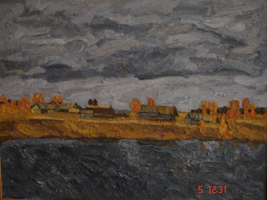 "Smirnov A. M. ""Autumn. Gloomy day."""