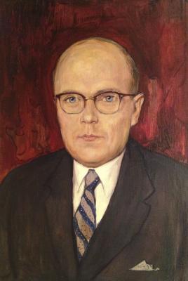 """Glazunov I. S. """"Portrait of a diplomat."""""""