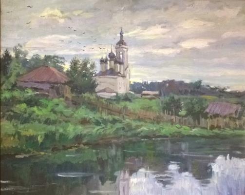 Глазунов Илья Сергеевич. Плес на Волге.