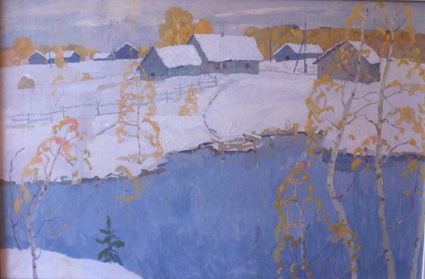 "Telegin Y. P. ""First Snow"""