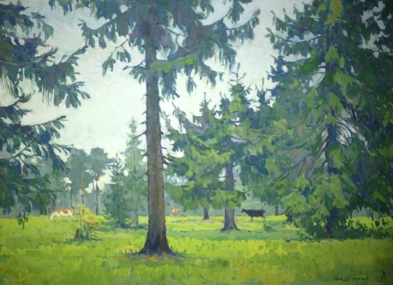 "Kondratyev V. S. ""Under the Krasnogorsk. It was in the fir forest."""