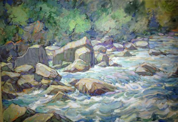 """Kondratyev V. S. """"River Hosta"""""""