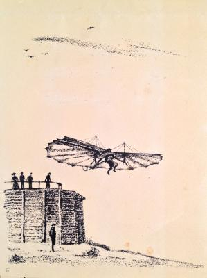 "Tambi V. A. ""O. Lilienthal glider"""