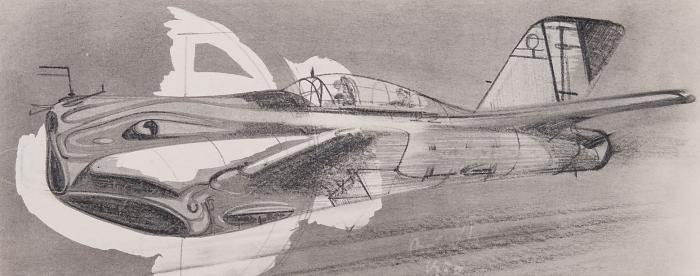 """Tambi V. A. """"The aircraft of the future."""""""