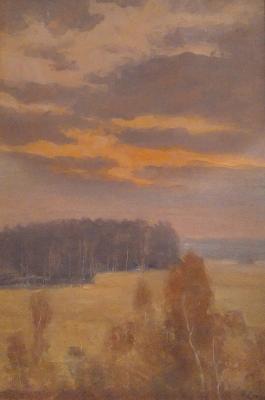 "Sokolov N. A. ""Landscape."""