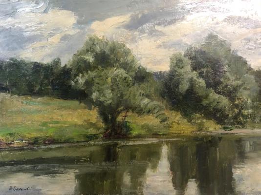 Соколов Николай Александрович. Река Пахра