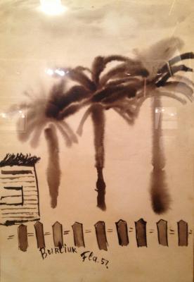 "Burlyuk D. D. ""Palms"""