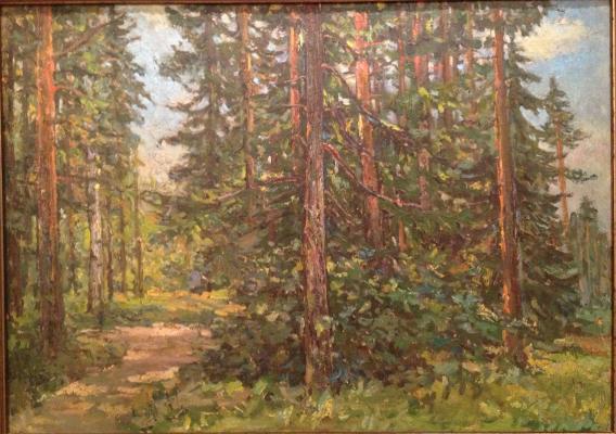 """Bezikovich B. N. """"Wood. Footpath."""""""