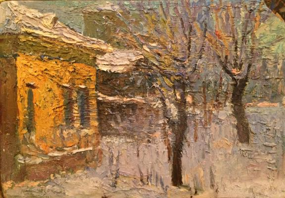 Bezikovich Boris Nikolayevich - Winter in the city.