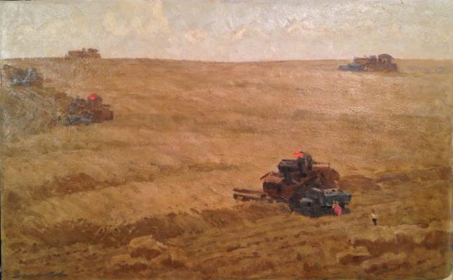"""Zemskov L. N. """"Harvesting"""""""