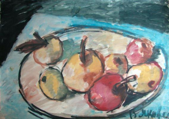 "Yakovlev V. I. ""Still Life with Apples"""