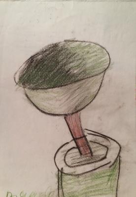 """Yakovlev V. I. """"Flower bowl"""""""