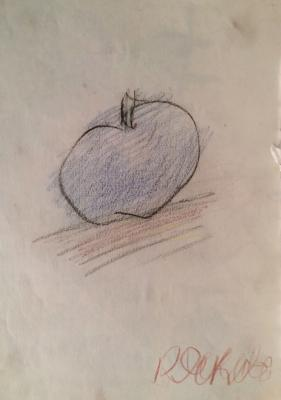 "Yakovlev V. I. ""An Apple."""
