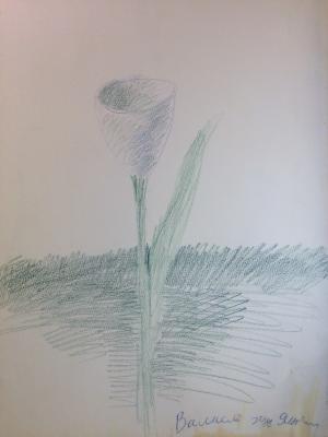 """Yakovlev V. I. """"Flower."""""""