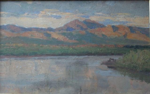 """Yeselevich Y. S. """"River Chulym"""""""