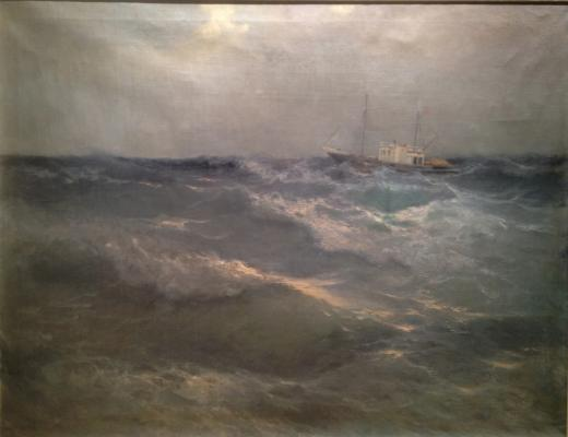 "Kravets A. V. ""Seascape."""