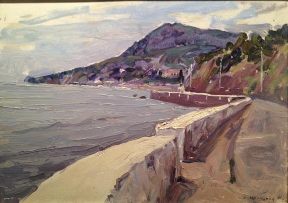 "Malyutina O. S. ""The Crimean landscape."""