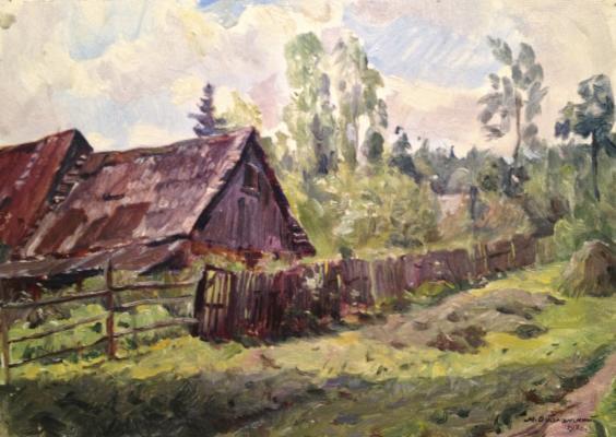 """Obolensky M. V. """"Rural landscape ."""""""
