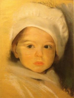 """Neizvestny khudozhnik  """"Portrait of a baby"""""""