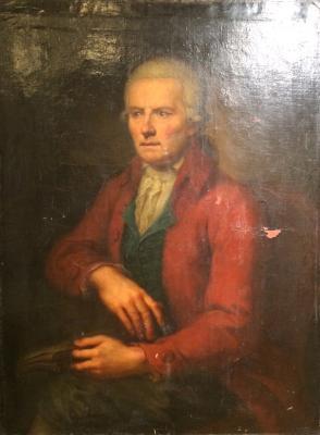 """Neizvestny khudozhnik  """"Portrait of a Man."""""""