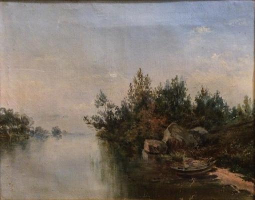 """Neizvestny khudozhnik  """"Landscape"""""""