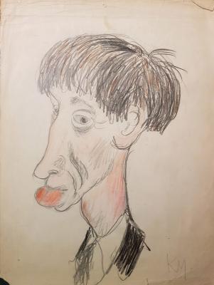 Неизвестный художник . Портрет Почиталова В.В.