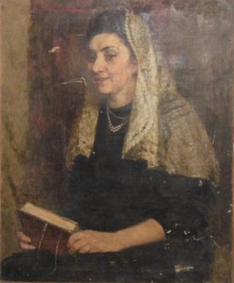 Неизвестный художник . Портрет княгини Багратион