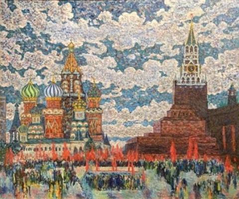 Домашников Борис Федорович. Красная площадь