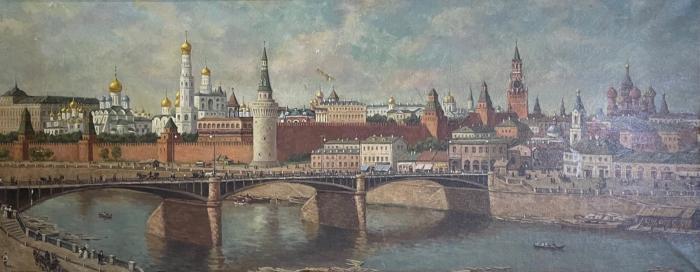 Неизвестный художник . Москва