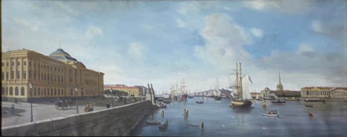 Неизвестный художник . Санкт-Петербург