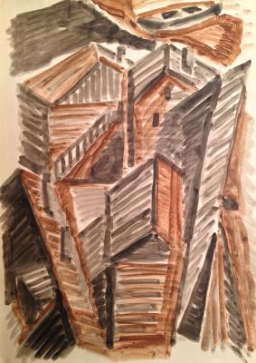"""Zharenova E. A. """"Wooden buildings ."""""""