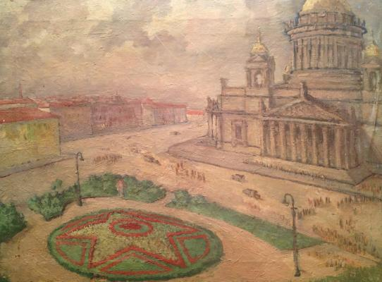 "Zharenov A. S. ""Peter. Square near St. Isaac"""
