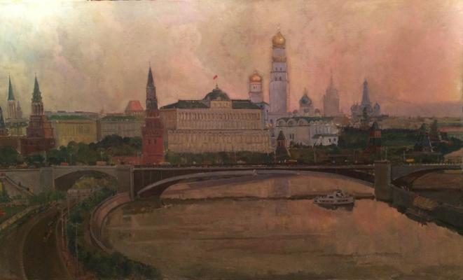 "Kats ""Dawn over the Kremlin."""