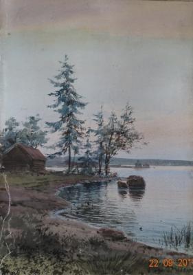 Бенуа Альберт Николаевич. На закате