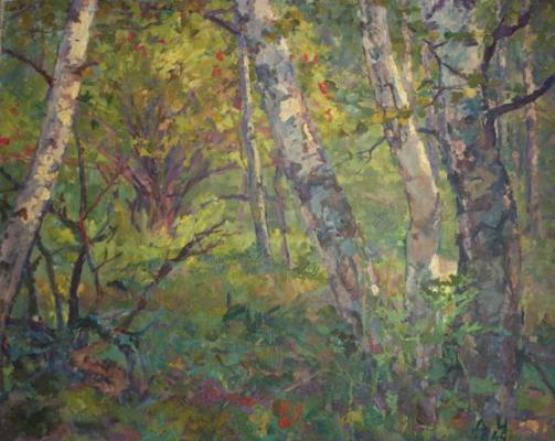 """Cherkes D. Y. """"Forest landscape ."""""""