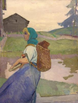 "Rastorguyev Y. A. ""The mowing ."""
