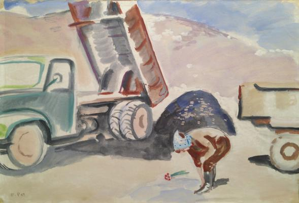 """Rastorguyev Y. A. """"At the construction site ."""""""
