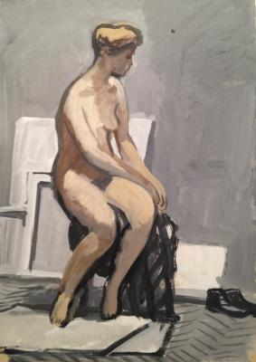 "Rastorguyev Y. A. ""The model in the artist"""