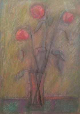"Rastorguyev Y. A. ""A flower in a pink cup."""
